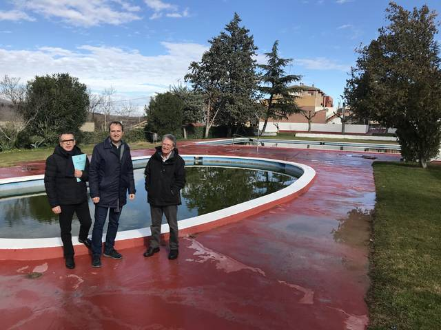 Projecte de reforma per les piscines de La Granja d'Escarp