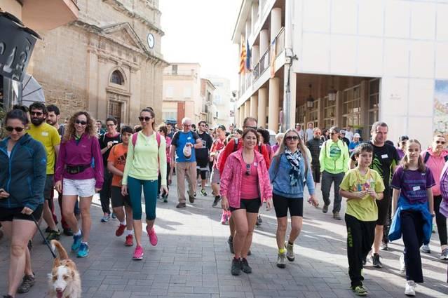 Rècord de participants a la Caminada Popular de Torrefarrera a Malpartit
