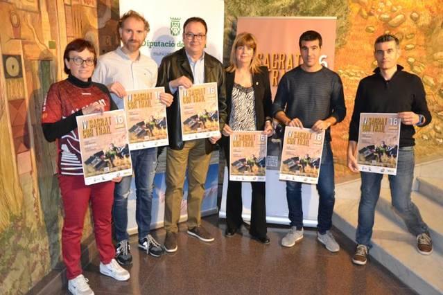 Rècord d'inscrits a la 4a Cursa i Caminada 'Sagrat Cor Trail' d'Alguaire amb 350 participants