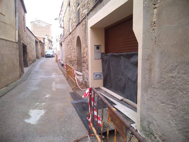 Renovació de la xarxa d'aigua potable de Maials als carrers Sant Sebastià i Orient