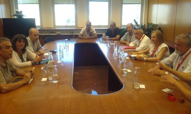 Representants d'ASAJA es reuneixen amb la consellera d'Agricultura