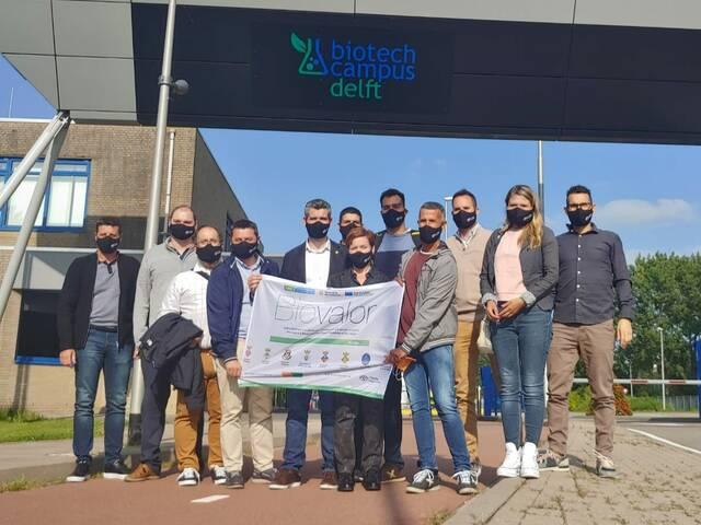 Representants de 8 municipis del Segrià visiten Holanda per conèixer projectes vinculats a l'economia verda
