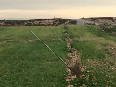 Robatori d'aspersors a Torres de Segre, el vuitè en dos mesos a Ponent