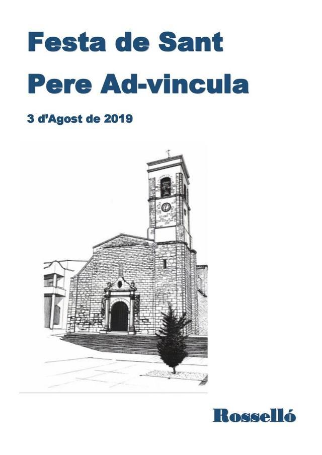 Rosselló celebra la Festa de Sant Pere ad Vincula