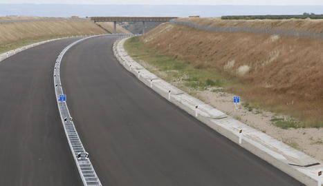 Rosselló insta a millorar la drecera a l'A-14 al quedar-se sense accés