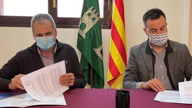 Signat a Torrebesses un conveni amb l'Associació Catalana de Municipis per defensar els interessos dels micropobles