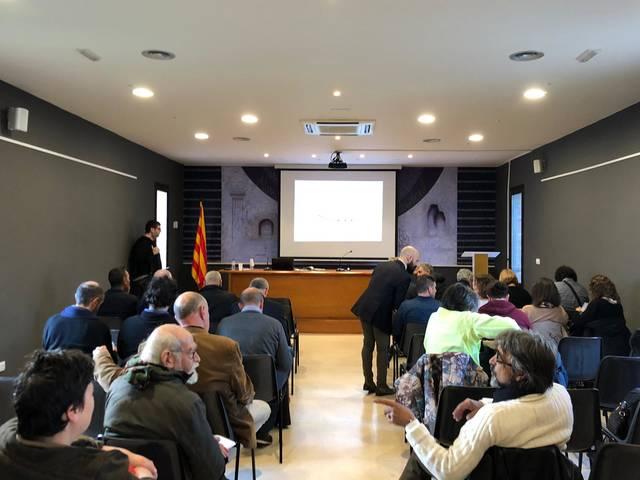 S'inicia el Congrés Internacional sobre Escultura Monumental d'Almacelles