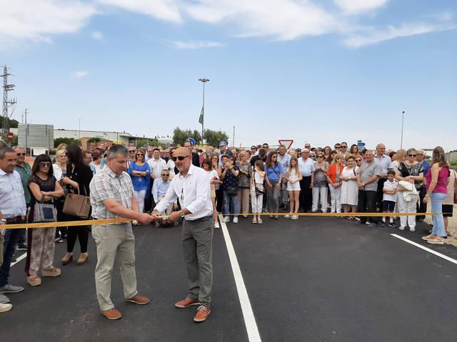 Soses inaugura el nou vial de la ronda nord