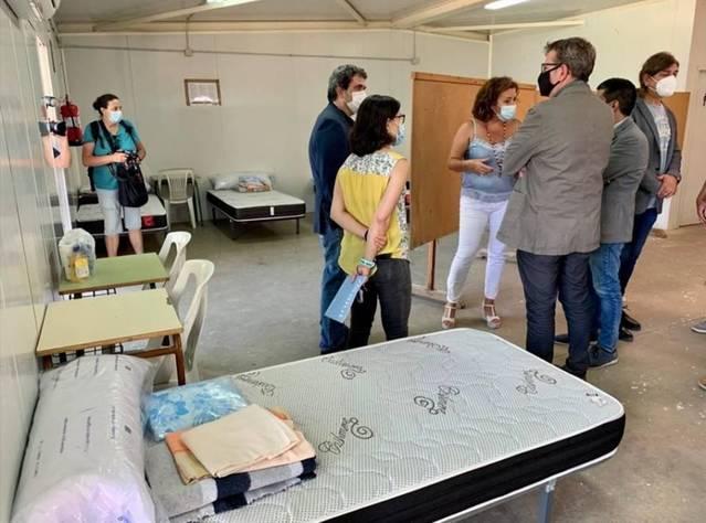 Soses obre l'alberg municipal per a confinar afectats pel Covid-19 amb 8 ingressats