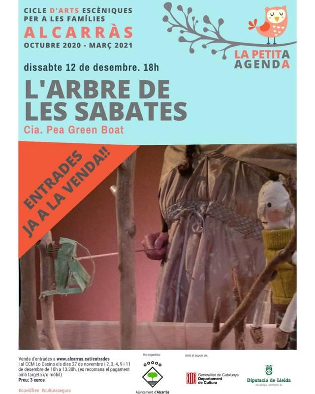 Torna el teatre familiar a Alcarràs amb les titelles de la companyia Pea Green Boat