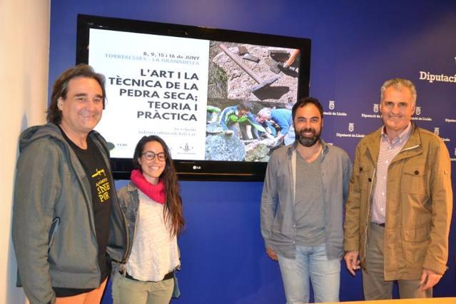 Torrebesses i la Granadella organitzen un curs sobre construccions de pedra seca