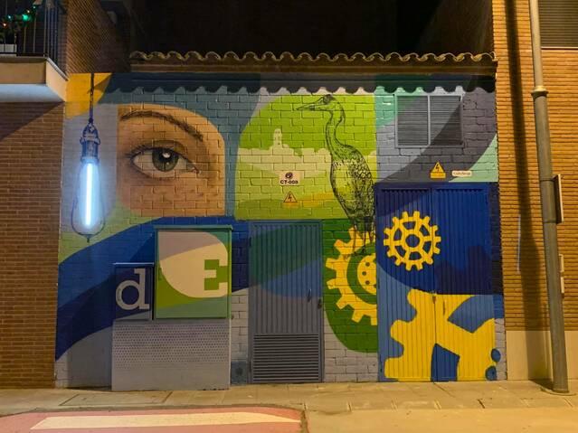 Torres de Segre decora amb murals pictòrics els seus transformadors elèctrics
