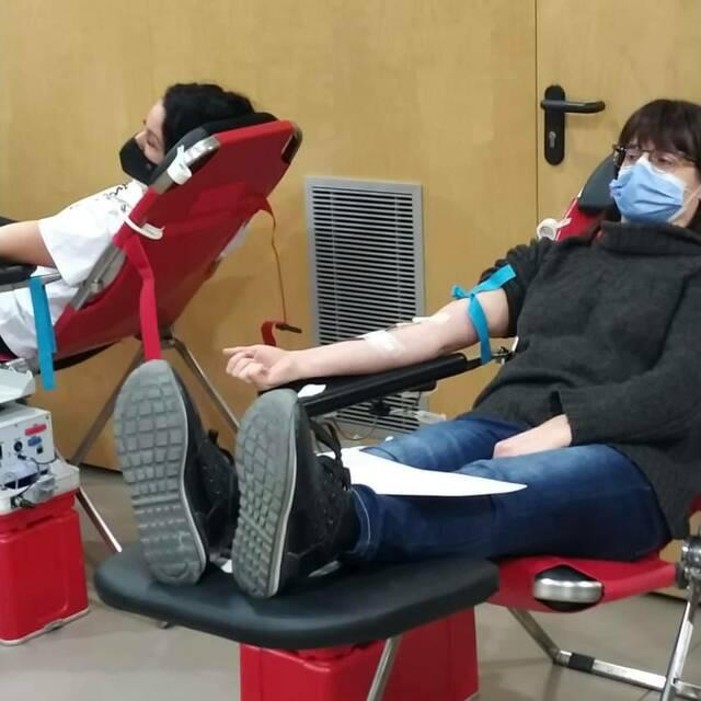 Torres de Segre suma 36 donacions de sang de veïns i veïnes