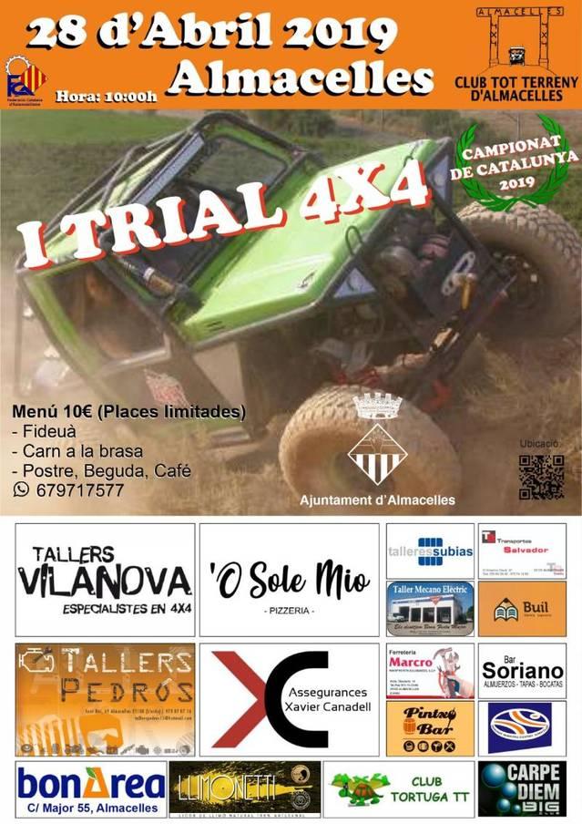 Tot a punt per al primer Trial de vehicles 4x4 puntuable per al Campionat de Catalunya