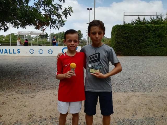 Tres títols més per al Tennis Lleida al circuit juvenil d'estiu del CT Valls