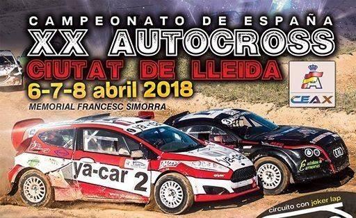 Tret d'inici del 20è Autocross Ciutat de Lleida