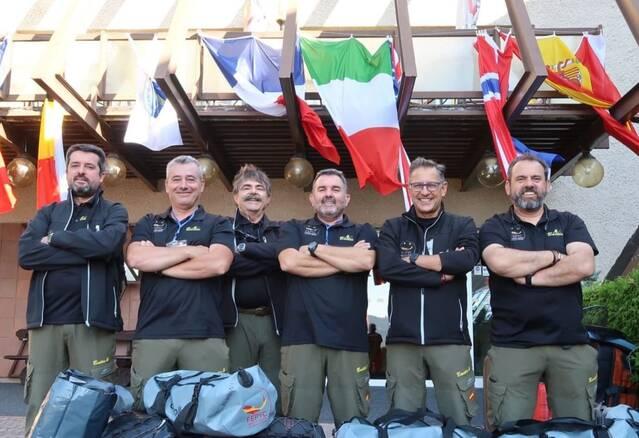 Un equip d'Alcarràs, medalla de bronze al Campionat del Món de pesca amb mosca Màsters