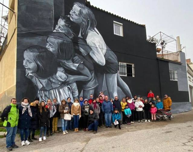 Un grup de 35 autocaravanistes visita Torrefarrera