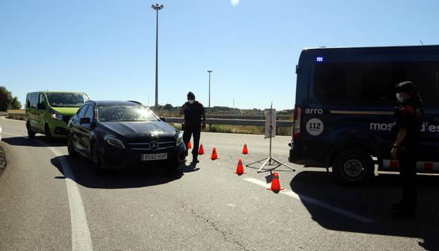 Un infectat de Covid 19 portava a Lleida en cotxe dos treballadores d'una empresa de Soses