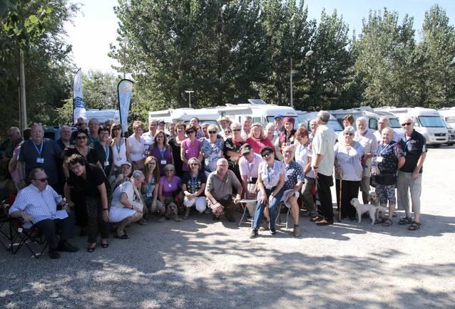 Una trentena d'autocaravanes, a la trobada celebrada a Alpicat pel Lleure Camper Club Catalunya