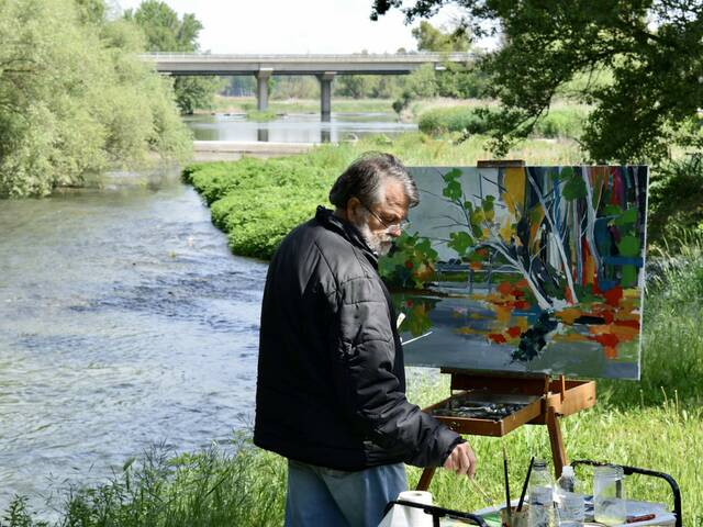 Una trentena de pintors a la 28a edició del Concurs de Pintura Ràpida 'Terraferma' de Torres de Segre