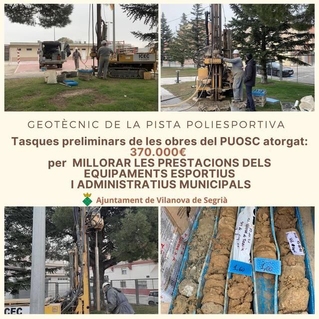 Vilanova de Segrià cobertarà la pista poliesportiva