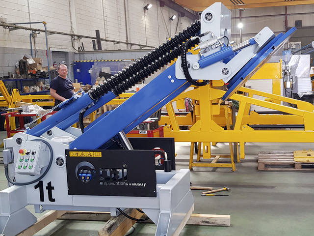 SPECIAL INCLINATION POSITIONER 1T