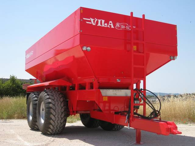 Fertilizer spreader SV-15