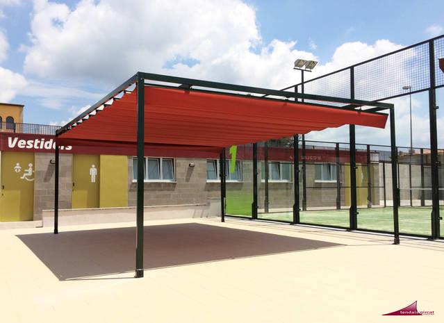 Projecte tendal correder piscina municipal de sils for Piscina municipal girona