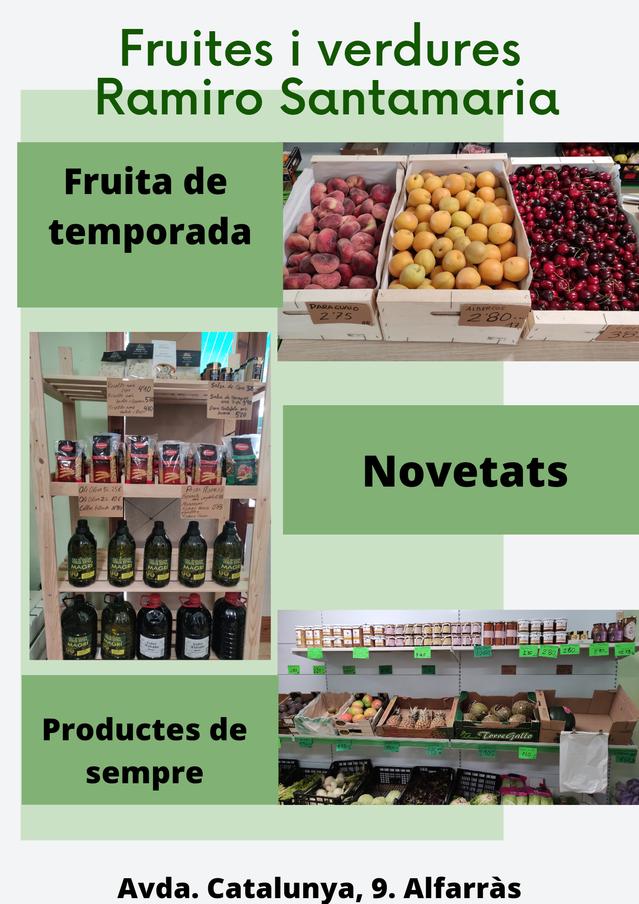 FRUITES I VERDURES RAMIRO SANTAMARIA