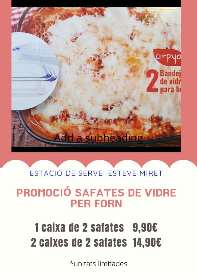 ESTACIÓ DE SERVEI ESTEVE MIRET