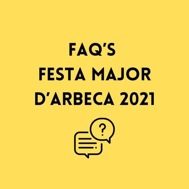 Preguntes frequents de Festa Major