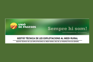 CURS DE GESTIÓ TÈCNICA DE LES EXPLOTACIONS AL MEDI RURAL