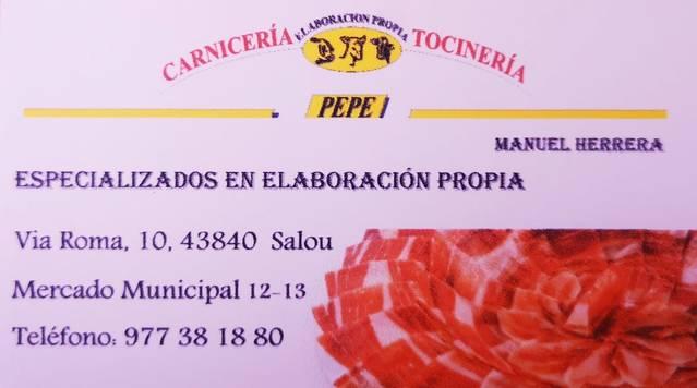 Carnicería Pepe