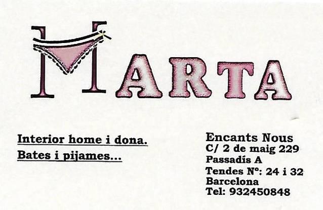 Llenceria Marta