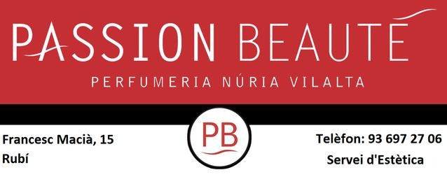 Perfumeria Núria Vilalta - Passion Beauté