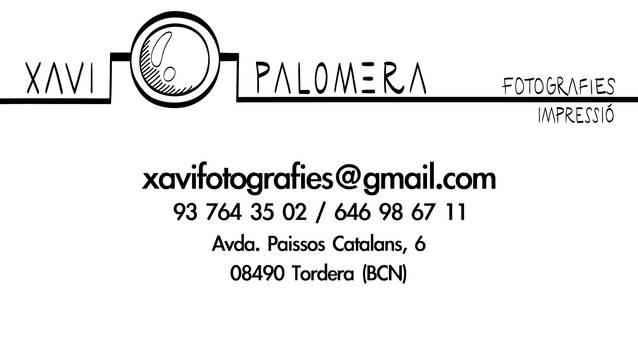 Xavi Palomera - Fotografies/Impressió