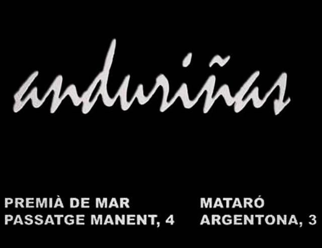 ANDURIÑAS (Moda-Mataró)
