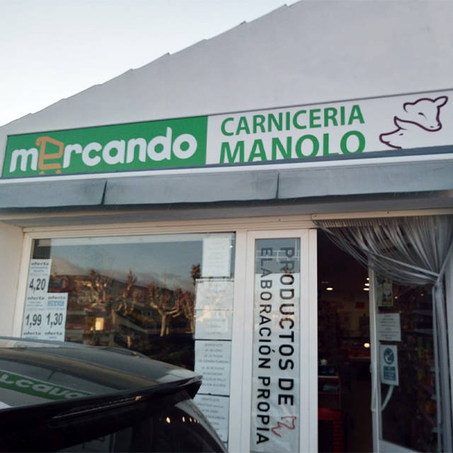 CARNICERÍA MANOLO, MERCANDO