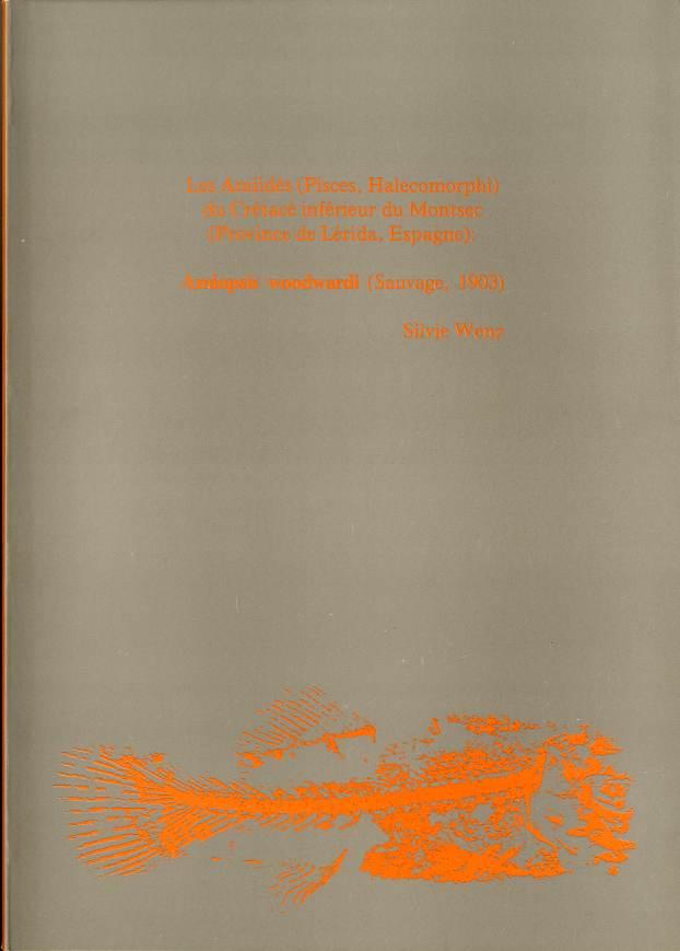 Amiidés (Pisces, Halecomorphi) du Crétacé inférieur du Montsec (Province de Lérida, Espagne), Les Amiopsis Woodwardi (Sauvage, 1903)