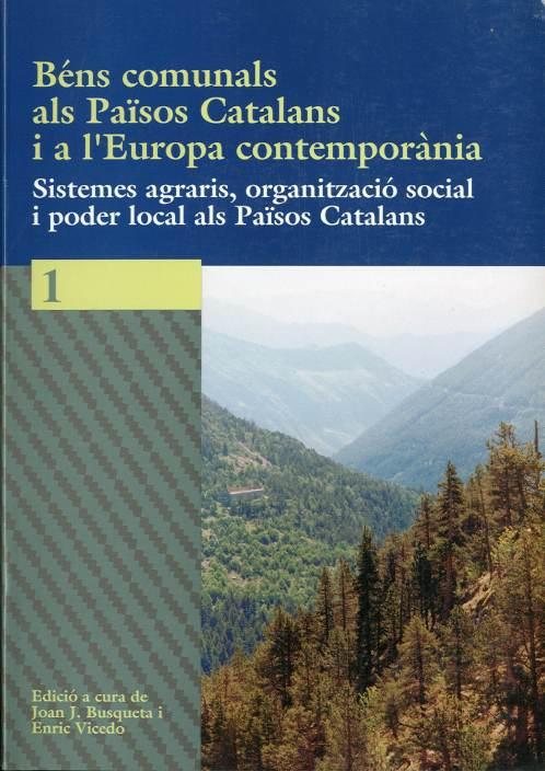 Béns comunals als Països Catalans i a l'Europa contemporània
