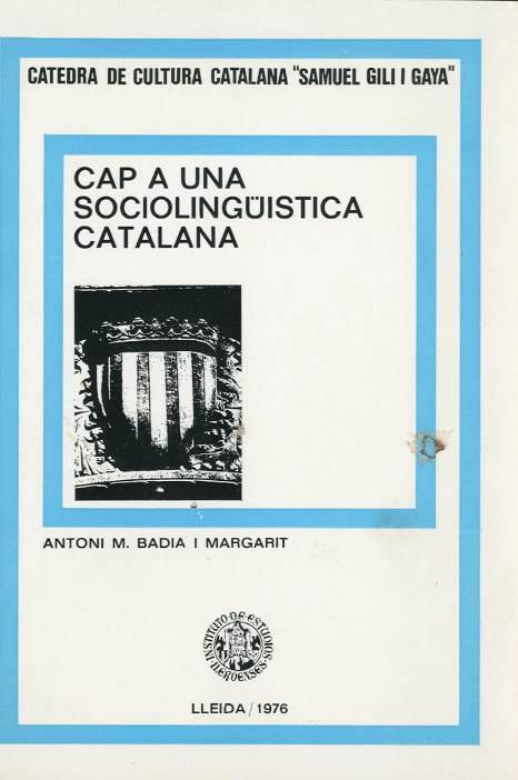 Cap a una sociolingüística catalana