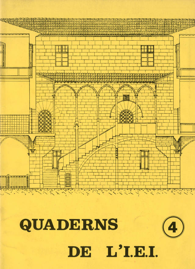 Carrers i places de la Tàrrega medieval fins avui / 1982