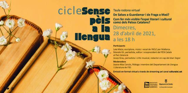 El cicle 'Sense pèls a la llengua' reflexiona sobre com fer més visible l'espai literari i cultural comú entre els Països Catalans