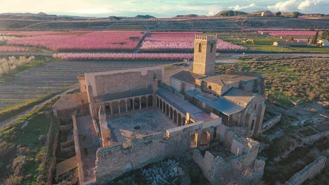 El monestir d'Avinganya obre les portes tots els caps de setmana de març