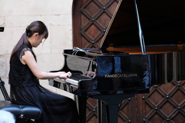 El Pati de l'IEI projecta a la ciutadania la millor música amb un dels concerts dels semifinalistes del Concurs Ricard Viñes