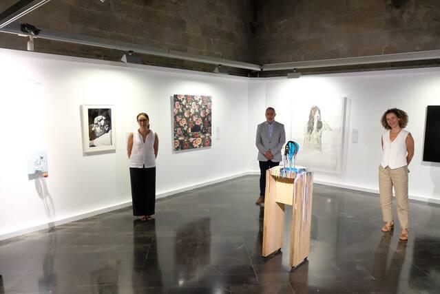Els rostres, protagonistes de l'exposició 'La identitat perduda, colección olorVISUAL', que es podrà veure a l'IEI fins al novembre