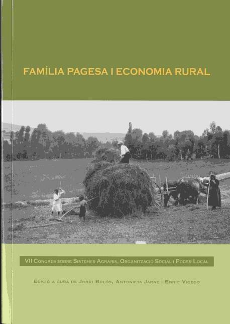 Família pagesa i economia rural
