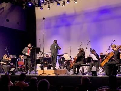 """Joan Talarn inaugura a Tremp """"la tradició"""" d'iniciar l'any a les Terres de Lleida amb un concert de l'Orquestra Julià Carbonell"""