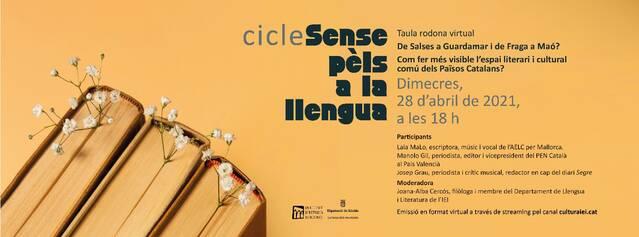 La construcció del patrimoni literari i cultural comú dels Països Catalans, a debat dimecres 28 a l'Institut d'Estudis Ilerdencs